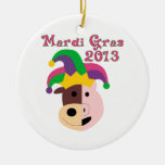 Mardi Gras 2013 Tees & Memorabilia Christmas Ornament