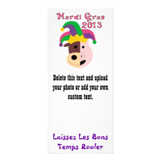 Mardi Gras 2013 Tees & Memorabilia Rack Card