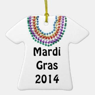 Mardi Gras 2014 t-shirt ornament