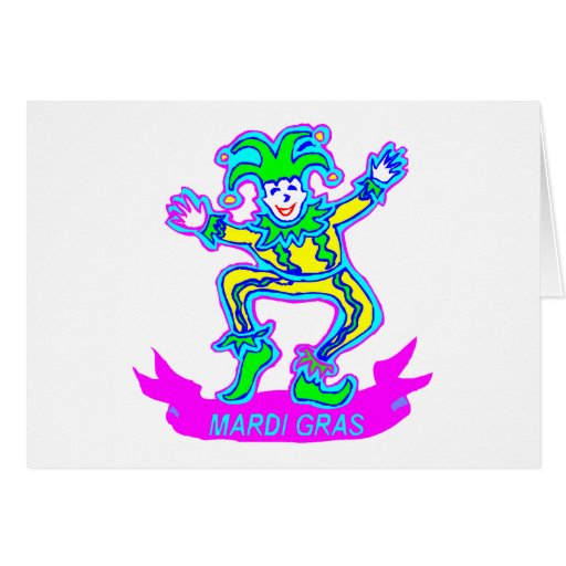 Mardi Gras 2 Cards