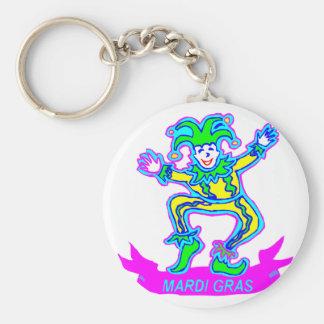 Mardi Gras 2 Keychain