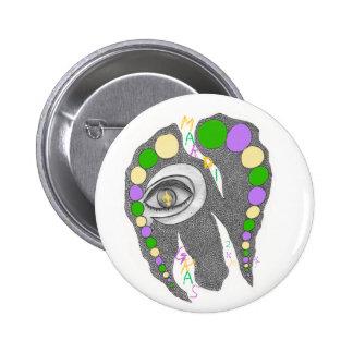 MaRdI GrAs-2k10 Pinback Button
