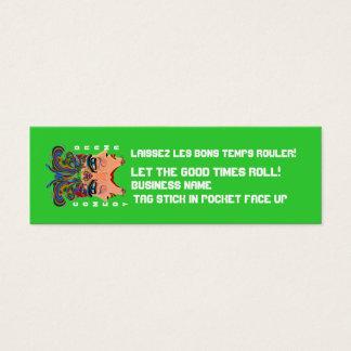 "Mardi Gras 3"" x 1"", Skinny cards View Hints"
