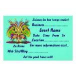 """Mardi Gras 5.5"""" x 8.5"""" Landscape Please View Notes Full Color Flyer"""