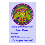 """Mardi Gras 5.5"""" x 8.5""""  Please View Notes Full Color Flyer"""