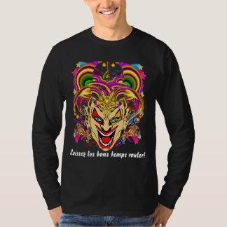 Mardi Gras All Styles MEN Dark View Hints Plse T-Shirt