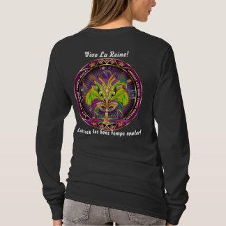 Mardi Gras All Styles Women Dark View Hints Plse T-Shirt