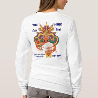 Mardi Gras All Styles Women Engl LIGHT View Hints T-Shirt