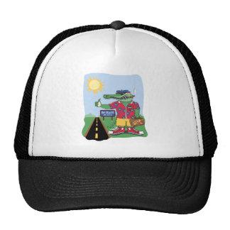 Mardi Gras Alligator Trucker Hat