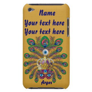 Mardi Gras Argos-Argus Eyes Important view notes Barely There iPod Case