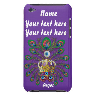 Mardi Gras Argos-Argus Eyes Important view notes Barely There iPod Cover
