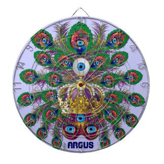 Mardi Gras Argos-Argus Eyes Important view notes Dart Board