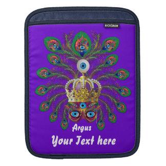 Mardi Gras Argos-Argus Eyes Important view notes iPad Sleeve