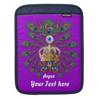 Mardi Gras Argos-Argus Eyes Important view notes iPad Sleeves