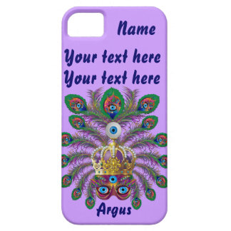 Mardi Gras Argos-Argus Eyes Important view notes iPhone SE/5/5s Case