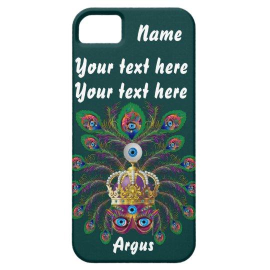 Mardi Gras Argos-Argus Eyes Important view notes iPhone SE/5/5s Case