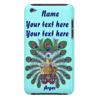 Mardi Gras Argos-Argus Eyes Important view notes iPod Case-Mate Case
