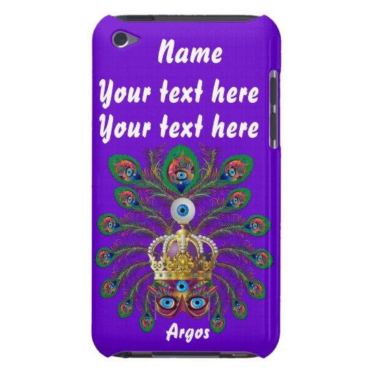 Mardi Gras Argos-Argus Eyes Important view notes iPod Case-Mate Case