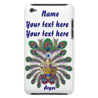 Mardi Gras Argos-Argus Eyes Important view notes iPod Touch Case-Mate Case