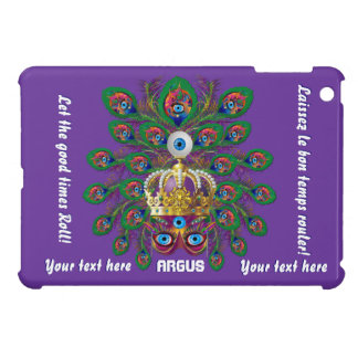 Mardi Gras Argos The Eyes Important View Notes Cover For The iPad Mini