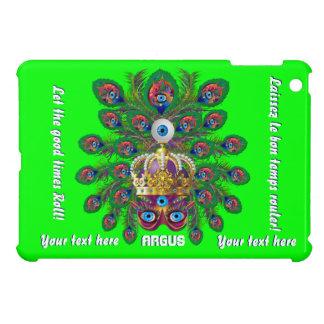 Mardi Gras Argos The Eyes Important View Notes iPad Mini Case