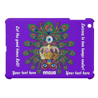 Mardi Gras Argos The Eyes Important View Notes iPad Mini Cases