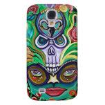 Mardi Gras Art Samsung Galaxy S4 Cases