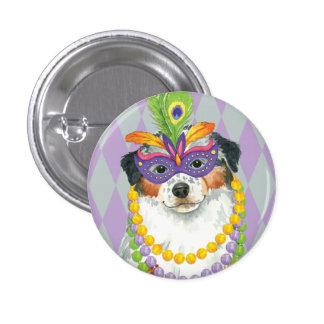 Mardi Gras Aussie Button