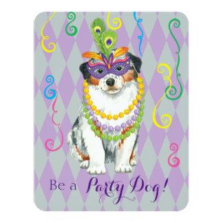 Mardi Gras Aussie Card