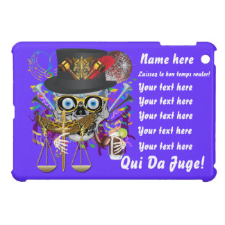 Mardi Gras Award Plaque Gift notes view Cover For The iPad Mini
