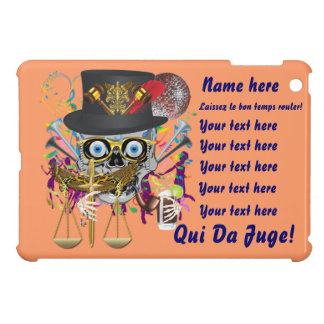 Mardi Gras Award Plaque Gift notes view iPad Mini Cases