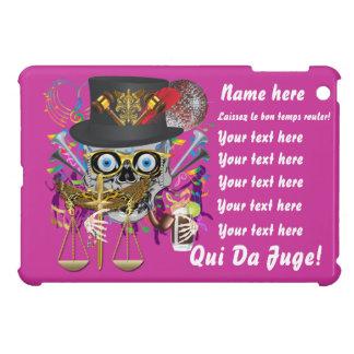 Mardi Gras Award Plaque Gift notes view iPad Mini Covers