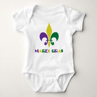 Mardi Gras Baby Bodysuit