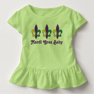 Mardi Gras Baby Kids Fleur de Lis T-shirt Tee