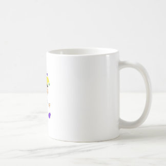 MARDI GRAS BABY CLASSIC WHITE COFFEE MUG