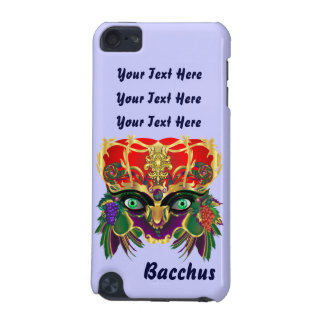 Mardi Gras Bacchus God of Wine and Vegetation iPod Touch 5G Case