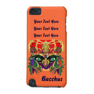 Mardi Gras Bacchus God of Wine and Vegetation iPod Touch 5G Cases