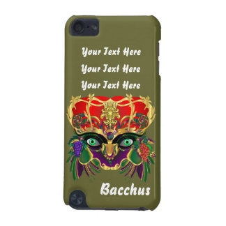 Mardi Gras Bacchus God of Wine and Vegetation iPod Touch 5G Covers