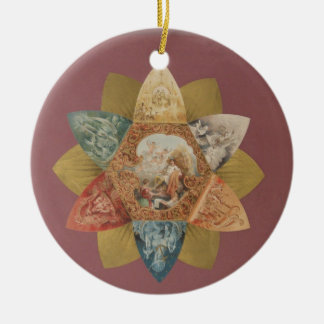 Mardi Gras Ball Vintage Favor Christmas Ornaments