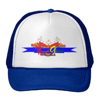 Mardi Gras Banner Mesh Hat