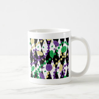 Mardi Gras Beads Coffee Mug