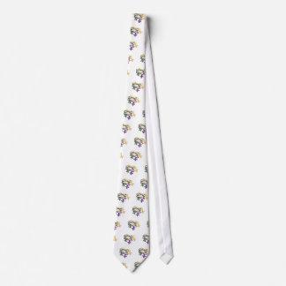 Mardi Gras Beads Neck Tie