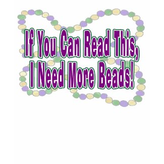 Mardi Gras Beads Shirt shirt