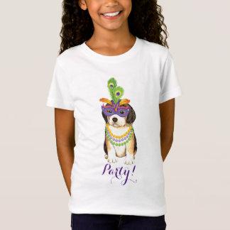 Mardi Gras Beagle T-Shirt