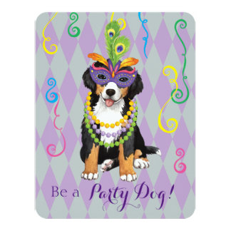 Mardi Gras Berner Card