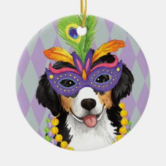 Mardi Gras Berner Ceramic Ornament