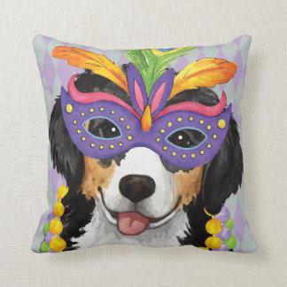 Mardi Gras Berner Throw Pillow