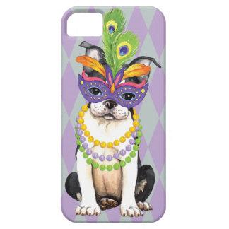 Mardi Gras Boston Terrier iPhone SE/5/5s Case