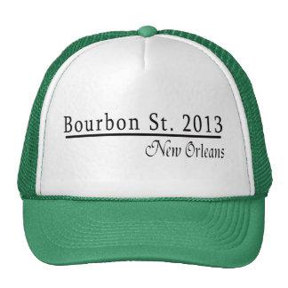 Mardi Gras Bourbon Street 2013 Trucker Hat