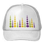 Mardi Gras Bubble Dots Hats
